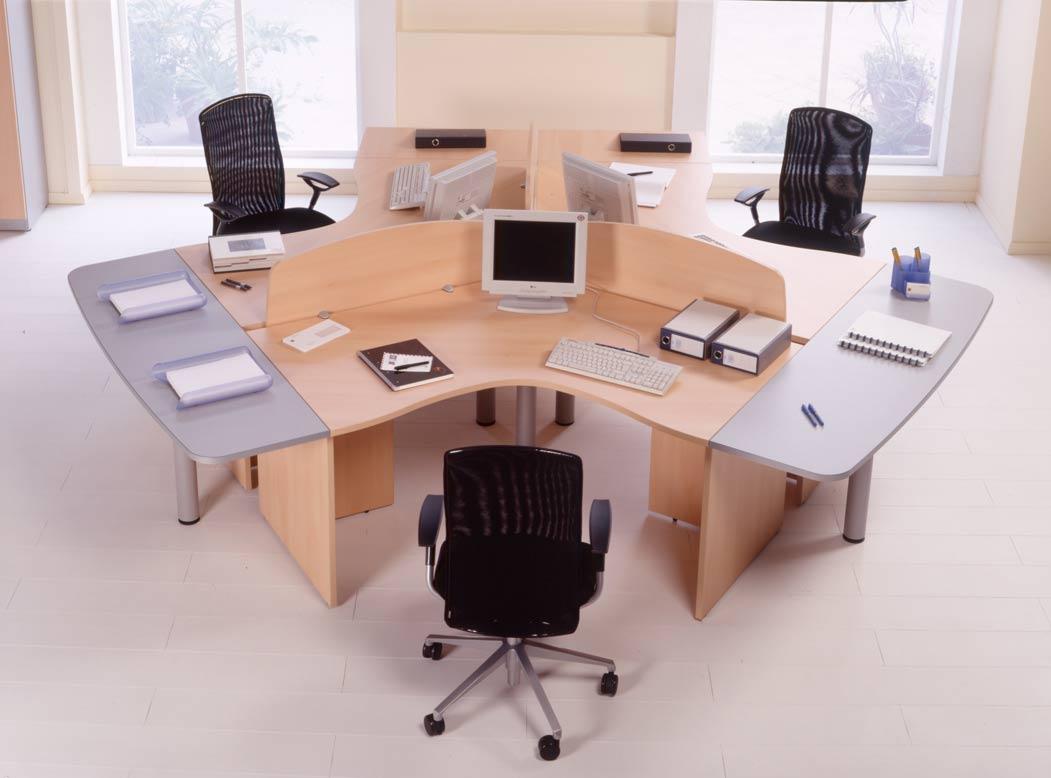 Mobiliario de boreal comunicaciones for Mobiliario modular para oficina